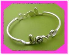 BRIGHTON LOVE CHILD Silver Crystal BANGLE Bracelet NWotag