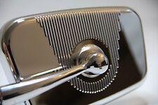 klassisch Fiat 500 Mini Chrom Spiegel 'rechteckig' Design rechts Oldtimer