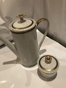 Bavaria Porzellan Mitterteich Kaffeekanne Zuckerdose