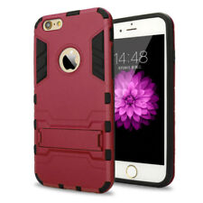 Hybrid Heavy Duty Armor Rugged Kickstand Hard Case Cover For iPhone X 8 6 7 Plus