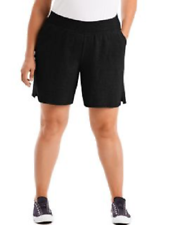 Just My Size By Hanes Womens Jersey Pull-On Shorts Size 1x 2x 3x New