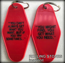Rolling Stones inspired key tag