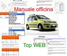 MANUALE OFFICINA Fiat Panda WORKSHOP MANUAL SERVICE SOFTWARE ELEARN