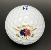 Somerset Country Club Logo Golf Ball (1) Pinnacle Exception PreOwned