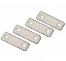 Plastic furniture clip floor saver White Nailed high quality