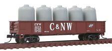 JTC - 42' Steel Gondola w/Cement Container Load  (Chicago & NorthWestern)