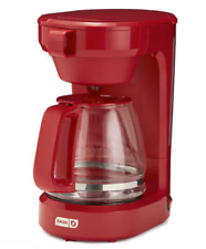 Dash 12-Cup Express Coffee Maker Red
