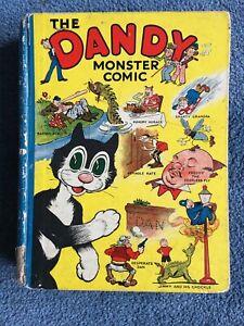 The Dandy Monster Comic Annual 1939- Original