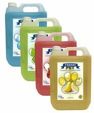 FRESH PET - Animal Safe Cleaner Disinfectant - 4 X 5L BEST SELLERS PREFILLED