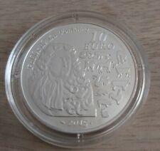 Pièce de 10 euros, FRANCE, 2015, Fables de La Fontaine(Chèvre), sous capsule