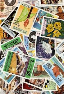 LIBYA Collection of 300 Different Mint Stamp Inc Animal MSH Space Gaddafi RARE