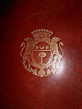 Office de la Semaine Sainte, Maroquin rouge aux armes de CASTANIER d'AURIAC 1758