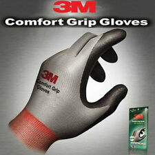 3M Comfort grip Gloves Nitrile Foam Garden Rubber Coated Work gloves 10pair (L)