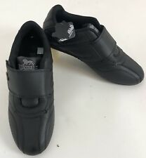 Lonsdale Mens Balham Trainers Hook Loop Leather Upper Shoes Sneaker New No Box