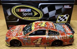 1/24 2014 Action Kevin Harvick Budweiser *phoenix Raced Win*