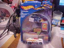 Planet Hot Wheels .Com CD-Rom Electrical Energy Car Monoposto White