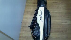 Titleist Authentic Golf Bag - Black & White Sports Bag