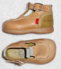 KICKERS chaussures bébé cuir tricolore P 18 TBE