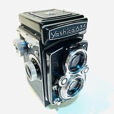 Yashica 635 TLR Medium Format Camera 120 / 35mm – Very Clean & Working + Case,