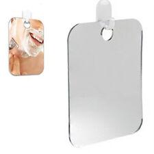 Anti Fog Shower Mirror Bathroom Fogless Fog Free Mirror Washroom Travel Silver