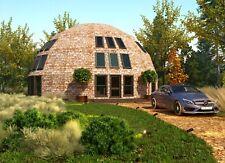 Moon House Strut Framing Kit For 2345 Sqft Dome Home 45ft Diam Wood Prefab Diy