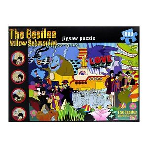 The Beatles Yellow Submarine 1000 piece Jigsaw Puzzle New