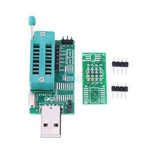 Bios Board MX25L6405 W25Q64 USB Programmer LCD Burner CH341A for 24 25 Series TP