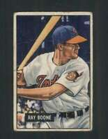 1951 Bowman #54 Ray Boone VG/VGEX RC Rookie Indians 104661