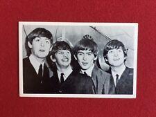 "1963, Beatles, ""Un-Used"" Black / White Post Card (Scarce)"