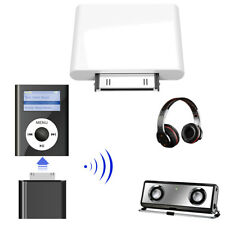 30Pin Bluetooth Transmitter Wireless Stereo HiFi Audio Dongles Adapter for iPod