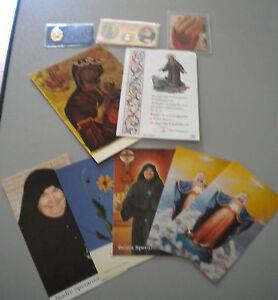 LOTTO 10 SANTINI - Ciondoli - Reliquie  - collezionismo sacro