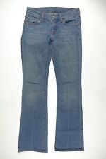 7 FOR ALL MANKIND Women Vtg 2001 Boot Cut Low Rise Med Wash Blue Jeans 27 x 31