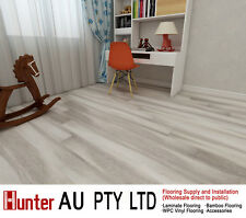 12MM AC4 Laminate Flooring Sample-Long Click Lock Floorbroads-Light Cloud Oak