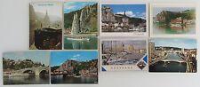 8 x Schiff Schiffe Postkarten Belgien Belgium Ship Lot frankiert ab/nach 1970
