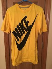 Nike Logo T-shirt Size: Small Big And Tall Yellow/Black