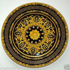 "ROSENTHAL VERSACE Floralia Gold plate Ø 7"" - 18 cm"