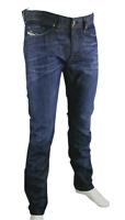DIESEL THAVAR WASH 0842N Herren Jeans Slim Skinny Slim Fit Hose Blau Wählbar