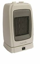 Comfort Glow Ceh255 Convection Heater - Ceramic - Electric - Bone - Portable