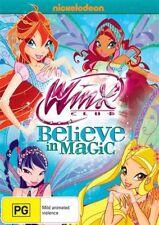 Winx Club - Believe In Magic  DVD video in case Nickelodeon pg REGION 4 original