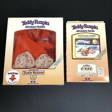 VTG Teddy Ruxpin Adventure Series Book and Cassette Lullabies and Sleep Outfit