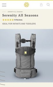 BRAND NEW Lillebaby Serenity All seasons baby carrier in Grey
