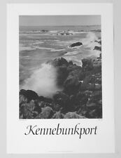 Kennebunkport, Maine Seascape Poster, Signed