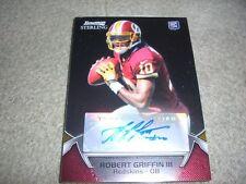 2012 Bowman Sterling Football - Robert Griffin III Rookie Autograph Card RG3
