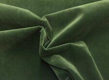 "BALLARD DESIGNS QUEENS VELVET EMERALD GREEN FURNITURE FABRIC BY THE YARD 54""W"