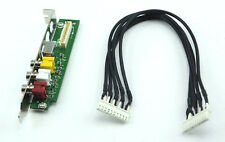 NVIDIA A/V Bracket and Cable Set for Hauppauge ASUS AVerMedia Emuzed TV Tuner