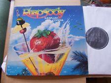 RHAPSODY,SUNSPLASH COCKTAIL lp m-/vg+ synton records 805840938 Germany 1988