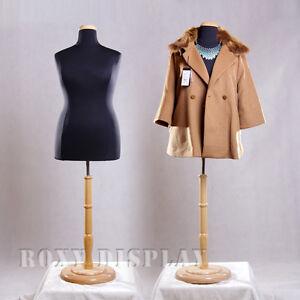Female Plus Size 18-20 Mannequin Manequin Manikin Dress Form #F18/20BK+BS-R01N