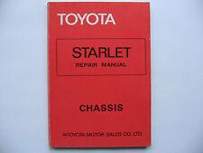 Toyota Starlet KP60  Reparaturanleitung Repair Manual original Toyota gebraucht