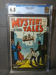 Mystery Tales 27 | 3/55 | Pre-Code Horror. Maneely cover | CGC 6.5