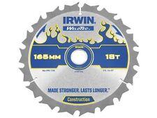 IRWIN - Weldtec Cordless Circular Saw Blade 165 x 20mm x 18T ATB C